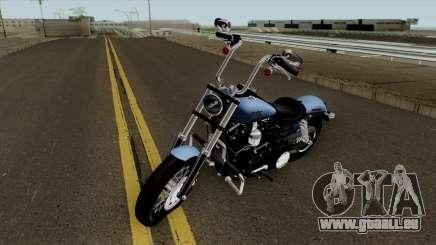 Harley-Davidson FXDB - Dyna Street Bob 2017 für GTA San Andreas