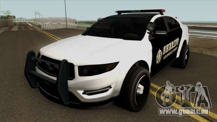 Ford Taurus Sheriff (Interceptor style) 2012 pour GTA San Andreas