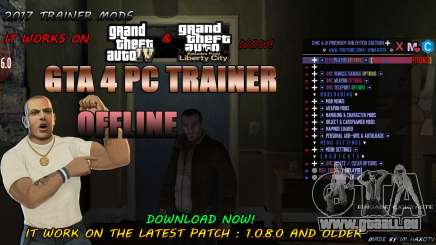 Script Trainer NEW By Im HaxoTV 1.0.8.0 pour GTA 4