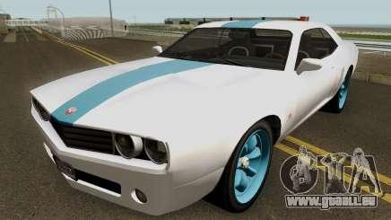 Dodge Challenger SRT Normal (Gauntlet) 2012 für GTA San Andreas