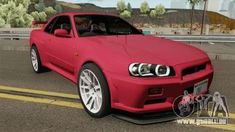 Nissan Skyline GT-R R34 1999 für GTA San Andreas