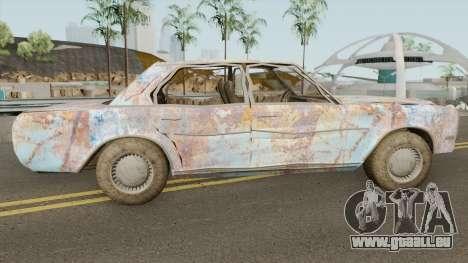 Rusty Benefactor Glendale für GTA San Andreas