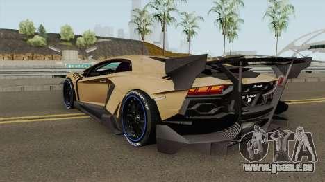 Lamborghini Aventador TZR R-Tech v1 pour GTA San Andreas