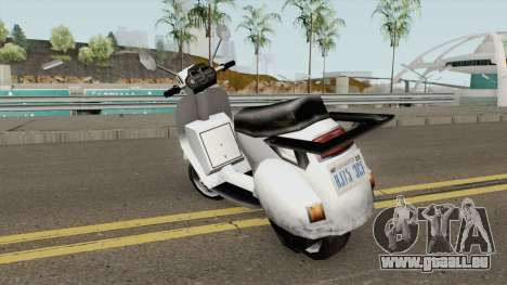 Faggio LE pour GTA San Andreas