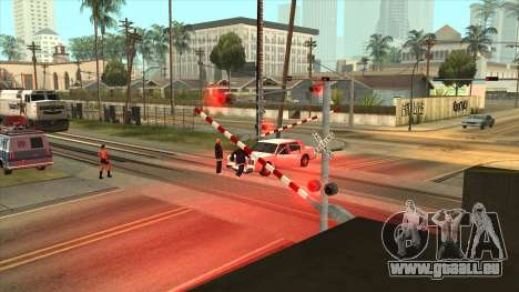 Le manque de l'une des portes de Los Santos pour GTA San Andreas