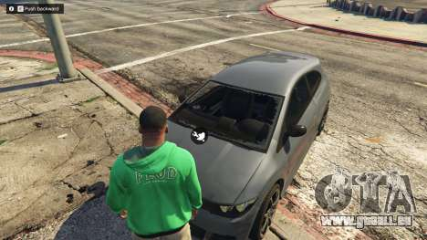 GTA 5 Vehicle Collision System & Vehicle Push 1.9