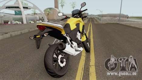 Honda CB500X 2015 pour GTA San Andreas