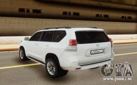 Toyota Land Cruiser Prado pour GTA San Andreas