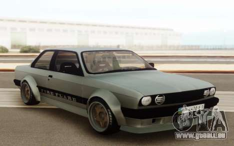 BMW E30 Static Wicked 30s pour GTA San Andreas