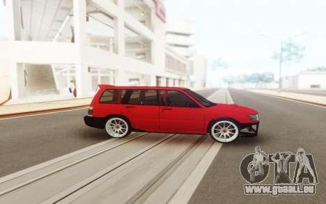 Subaru Forester SF pour GTA San Andreas