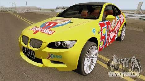 BMW M3 E92 Burgershot 2007 für GTA San Andreas