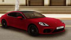 Porshe Panamera Red pour GTA San Andreas