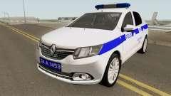 Die Türkische Polizei Auto Renault Logan für GTA San Andreas