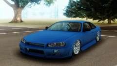 Nissan Silvia S14 Facelift R34 für GTA San Andreas