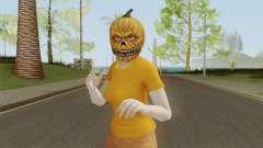 GTA ONLINE Halloween Skin Female pour GTA San Andreas