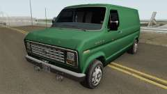Ford E-150 Normal Improved Version für GTA San Andreas