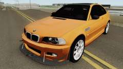 BMW M3 E46 (Fully Tunable and Paintjobs) 2004 v1 pour GTA San Andreas