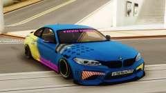 BMW M2 LowCarsMeet pour GTA San Andreas