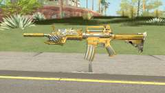 CF M4A1-S Beast Noble Gold pour GTA San Andreas