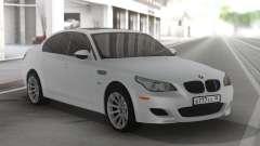 BMW M5 E60 Clear White pour GTA San Andreas