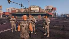 Warfare MOD 1.0 pour GTA 5