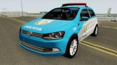 Volkswagen Gol G6 PMERJ für GTA San Andreas