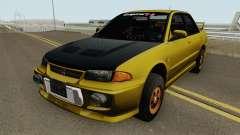 Mitsubishi Lancer Evolution III GSR 1996 pour GTA San Andreas