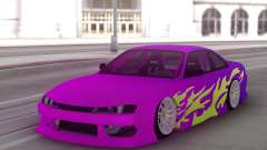 Nissan 200SX S14 Gradient Factory New pour GTA San Andreas