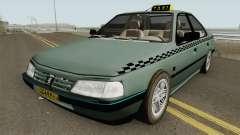 Peugeot 405 GLX TAXI NEW pour GTA San Andreas