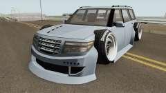 Nissan Patrol WideBody 2016 pour GTA San Andreas