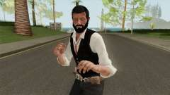 Edward Pierce from Call of Cthulhu Without Coat pour GTA San Andreas