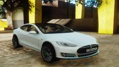 Tesla Model S White pour GTA San Andreas