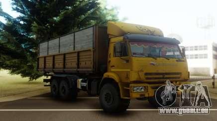 KamAZ 43118 Flachbett-trailer für GTA San Andreas