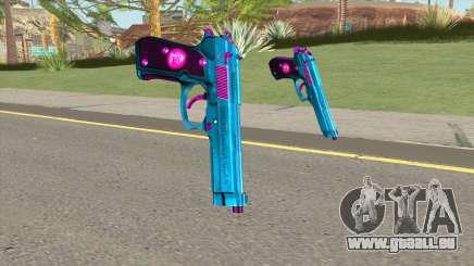 Colt 45 Azure pour GTA San Andreas