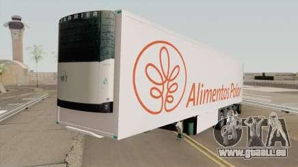 Remolque Alimentos Polar pour GTA San Andreas
