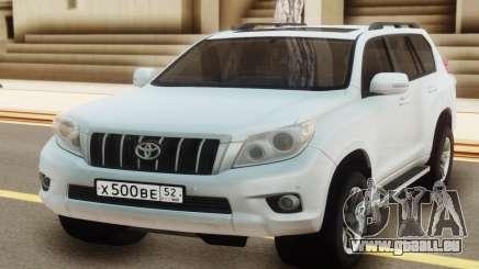 Toyota Land Cruiser Prado White pour GTA San Andreas