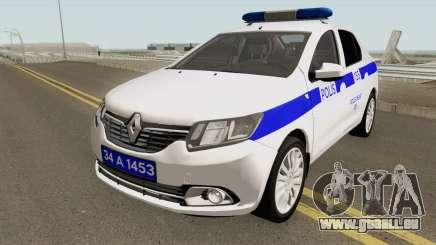La Police Turque Voiture Renault Logan pour GTA San Andreas