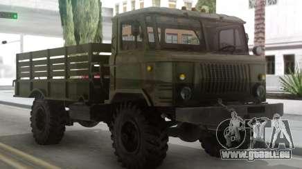 GAZ 66 avec un corps et Tende pour GTA San Andreas