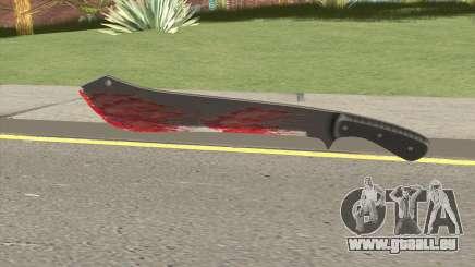 GTA Online Bloody Machete pour GTA San Andreas