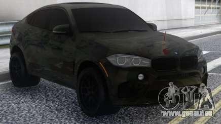 BMW X6 Camo pour GTA San Andreas