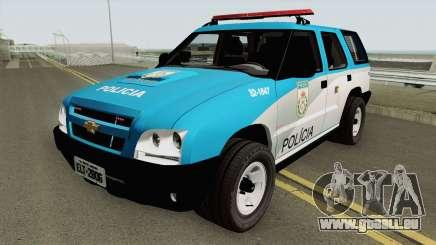 Chevrolet Blazer 2010 PMERJ für GTA San Andreas