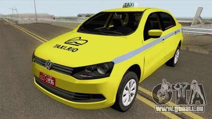 Volkswagen Voyage G6 Taxi RJ Laranjeiras pour GTA San Andreas