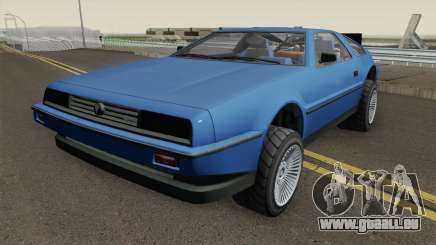 Deluxo Time Machine 1.0 GTA 5 pour GTA San Andreas