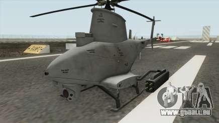 MQ-8B FireScout Drone v1.2 für GTA San Andreas