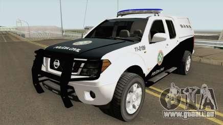 Nissan Frontier DPCA PCERJ 2013 für GTA San Andreas