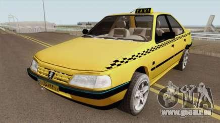 Peugeot 405 GLX TAXI NEW v2 pour GTA San Andreas
