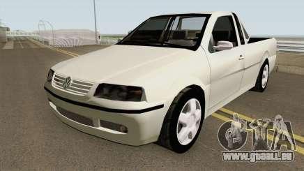 Volkswagen Saveiro G3 Tunable pour GTA San Andreas
