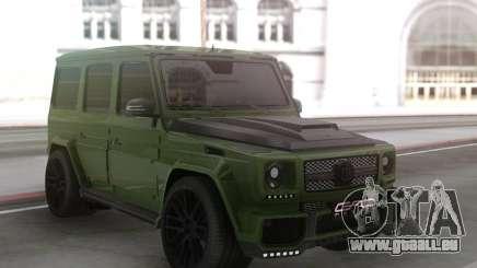 Mercedes-Benz G63 Green pour GTA San Andreas