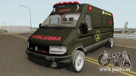 Renault Master Ambulance Dos Fuzileiros Navais pour GTA San Andreas