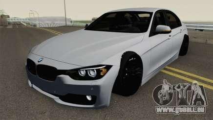 BMW F30 i335 pour GTA San Andreas